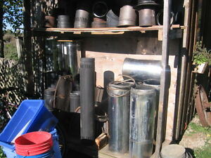 "8"" stainless steel insulated wood stove pipe woodstove"