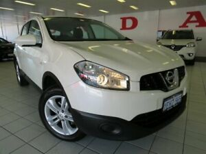 2013 Nissan Dualis J10 MY13 ST (4x2) White 6 Speed CVT Auto Sequential Wagon Osborne Park Stirling Area Preview