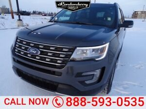 2017 Ford Explorer AWD XLT Accident Free,  Leather,  Heated Seat