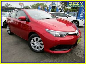 2016 Toyota Corolla ZRE182R MY15 Ascent Wildfire 7 Speed CVT Auto Sequential Hatchback Penrith Penrith Area Preview