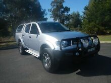 2012 Mitsubishi Triton MN MY13 GL-R Double Cab Silver 5 Speed Manual Utility Young Young Area Preview