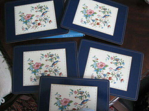 6 - Aynsley Pembroke Placemats ~ set of 6 ~ 12 inch X 9 inch in Original box