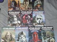 star wars helmet fact files x10