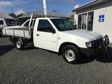 2001 Holden Rodeo TFR9 DX White 5 Speed Manual Cab Chassis Newcastle Newcastle Area Preview