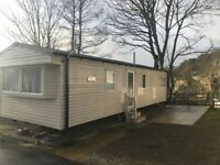 STATIC CARAVAN FOR SALE IN YORKSHIRE DALES-LEYBURN. 5* PARK OPEN 12 MONTHS-REDUCED -ON STUNNING PLOT