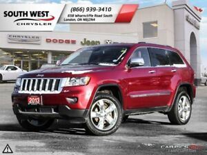2013 Jeep Grand Cherokee Overland | GPS | Panoroof | Rear DVD |
