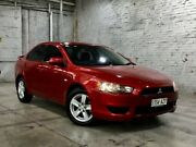 2013 Mitsubishi Lancer CJ MY13 ES Red 6 Speed Constant Variable Sedan Mile End South West Torrens Area Preview