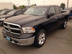 2014 Ram 1500 SLT with 4WD and Bluetooth