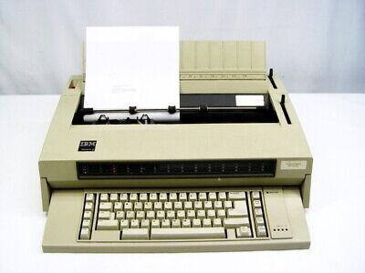 Ibm Wheelwriter 3 674x Electronic Typewriter
