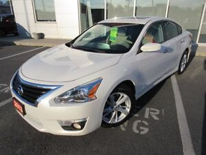 2013 NISSAN ALTIMA 2.5 SV CAMERA S-ROOF H-SEATS 3.9% 72 MONTHS