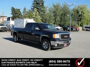 2011 GMC SIERRA 2500HD CREW CAB LONG BOX 4X4
