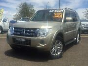2013 Mitsubishi Pajero NW MY13 VR-X Gold 5 Speed Sports Automatic Wagon Hillvue Tamworth City Preview
