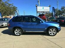 2004 BMW X5 E53 MY05 d Steptronic Blue 6 SPEED Semi Auto Wagon Southport Gold Coast City Preview