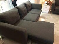 Dark grey modern sofas (Fabb)
