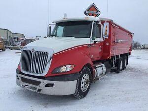 2012 International ProStar +122, Used Grain Truck