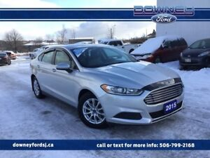 2015 Ford Fusion S POWER WINDOWS BACKUP CAMERA CRUISE CONTROL