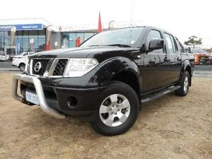 2010 Nissan Navara D40 ST (4x4) Black 5 Speed Automatic Dual Cab Pick-up Belconnen Belconnen Area Preview