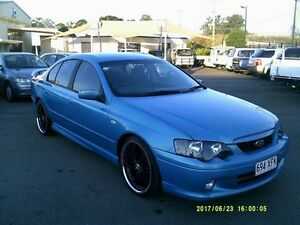 2004 Ford Falcon BA XR6 Blue 4 Speed Auto Seq Sportshift Sedan Coopers Plains Brisbane South West Preview