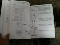 1986 NISSAN 200SX MIDYEAR MODEL CHANGE SERVICE MANUAL BOOK 1ST