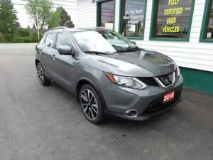 2018 Nissan Qashqai SL AWD for only $215 bi-weekly all in!