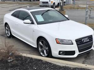 AUDI A5 SLINE 2012 - FULL -AUTOMATIQUE-MAGS-CUIR-TOIT-4X4