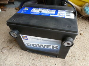 NAPA Power auto battery side post terminals Model 7501 year old