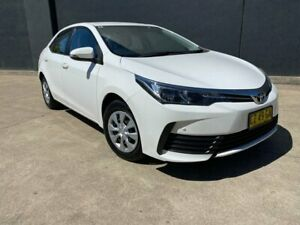 2017 Toyota Corolla ZRE172R Ascent Sedan 4dr S-CVT 7sp, 1.8i White Constant Variable Sedan Villawood Bankstown Area Preview