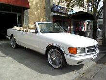 1982 Mercedes-Benz 380 SEC White 4 Speed Automatic Coupe South Melbourne Port Phillip Preview