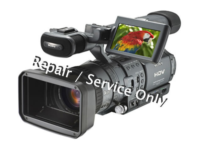 REPAIR / SERVICE for SONY HDR-FX1 Professional Camera (*READ 1st*)