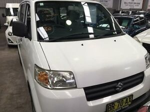 2012 Suzuki APV White Manual Van Macquarie Hills Lake Macquarie Area Preview