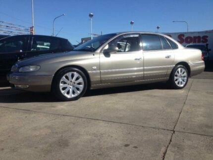 2001 Holden Caprice WH Gold 4 SP AUTOMATIC Sedan