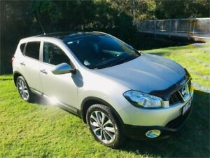 2012 Nissan Dualis J10 Series II TI (4x2) Grey 6 Speed CVT Auto Sequential Wagon Southport Gold Coast City Preview