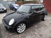 BMW MINI COOPER 1.6~03/2003~MANUAL~3 DOOR HATCHBACK~STUNNING BLACK~FULL AERO KIT