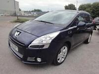 LHD 2011 Peugeot 5008 Exclusive 1.6 HDI MPV 7 Seats 6 Speed Manual UK REGISTERE