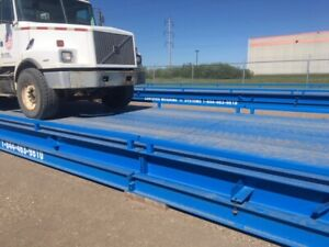 USED PORTABLE TRUCK SCALES - IN STOCK