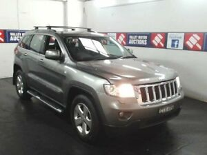 2012 Jeep Grand Cherokee WK MY13 Grey 5 Speed Automatic Wagon Cardiff Lake Macquarie Area Preview