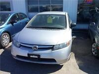 2008 Honda Civic DX-G Certified and E-Tested