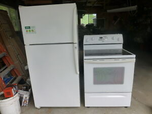 Refridgerator and Stove For Sale