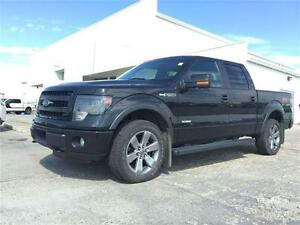 2014 Ford F-150 FX4 4x4 Luxury Pkg ~ 1 Owner ~ EcoBoost $297 B/W