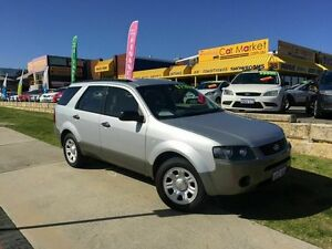 2006 Ford Territory SY TX Silver 4 Speed Sports Automatic Wagon Wangara Wanneroo Area Preview