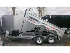 2017 K-Trail 6x10 HD 10000lbs Dump Trailer    ( NO MORE RUST )