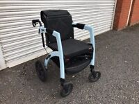 Rollz Motion All in one Rollator & Wheelchair