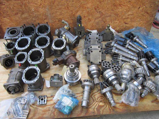 Brueninghaus Rexroth  Bent Axis Motor Piston Pump motor Hydraulic Hydromatik