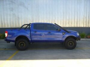 2014 Ford Ranger PX XLS Double Cab Blue 6 Speed Manual Utility Beverley Charles Sturt Area Preview