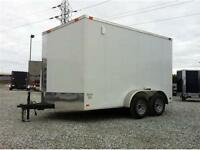 LOWEST PRICE ON ENCLOSED TRAILER 7x12,  7x14  NEW 2015
