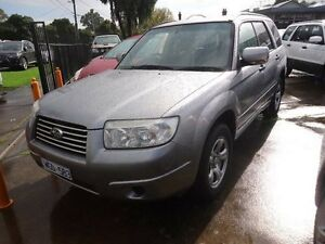 2008 Subaru Forester 79V MY08 X AWD Columbia Grey 5 Speed Manual Wagon Alphington Darebin Area Preview