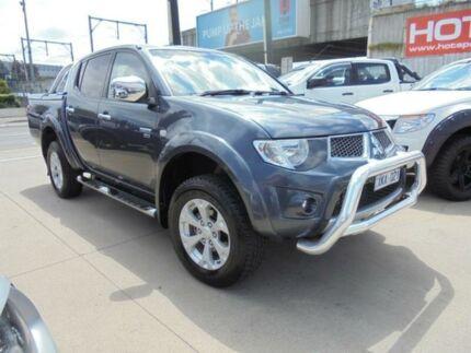 2009 Mitsubishi Triton MN MY10 GLX-R Grey 5 Speed Manual Utility Granville Parramatta Area Preview