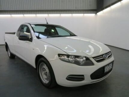 2012 Ford Falcon FG MK2 (LPi) Cool White 6 Speed Automatic Utility