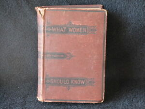 Eliza Bisbee Duffey's, Extremely Rare,What Women Should Know