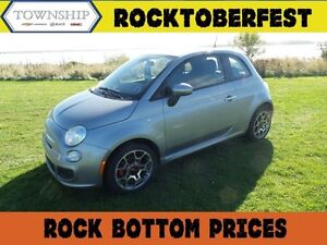 2015 FIAT 500 Sport - Automatic - Factory Warranty